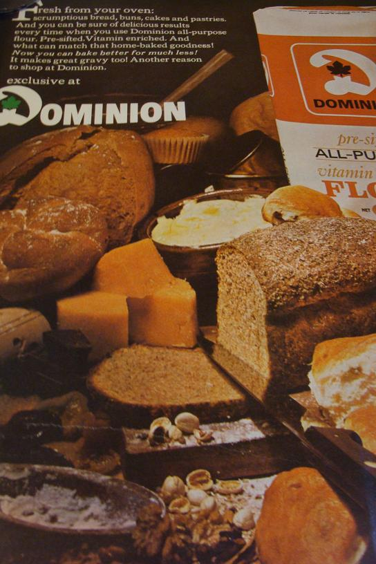 Dominion was a chain of grocery stores back in the day. I Immediately remembered their logo when I saw this.