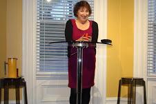 Poet/writer, Carolle Langille.